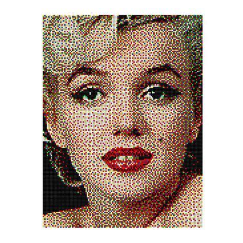 craft work for home pixel 16 crea un capolavoro con i chiodini quercetti