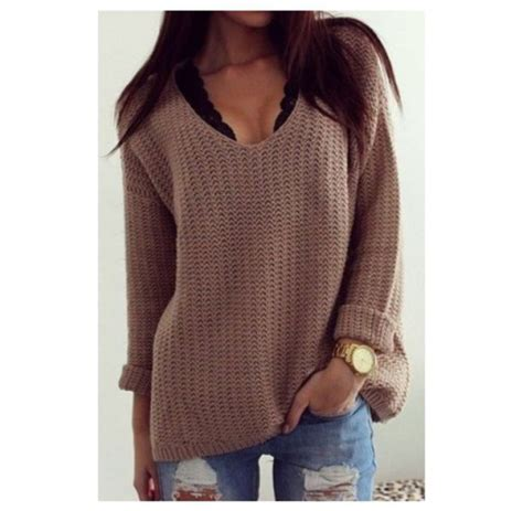 Sweater winter sweater winter swag brown tumblr tumblr outfit tumblr clothes tumblr girl ...