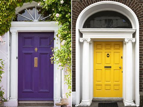 Colourful Door by These Colorful Front Doors Add Instant Curb Appeal Today