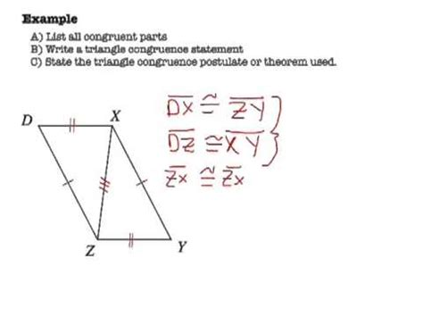 Geometry  Proofs For Triangles Doovi