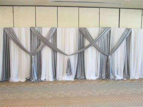 diy wedding crafts a large scale pvc backdrop