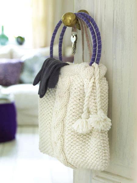 tasche stricken mit kostenloser anleitung wunderweib