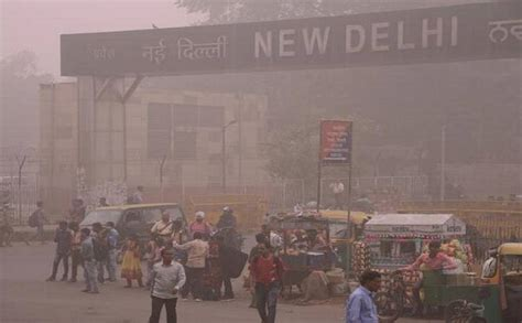 Delhi Air Pollution Deadly Smog Chokes National Capital