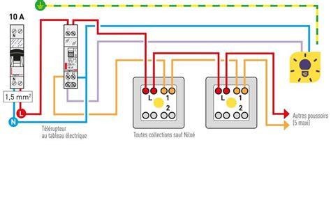 schema bouton poussoir qu est ce qu un interrupteur poussoir ou 224 bouton poussoir espace grand legrand