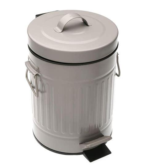 poubelle de salle de bain 224 p 233 dale orange style r 233 tro 3l