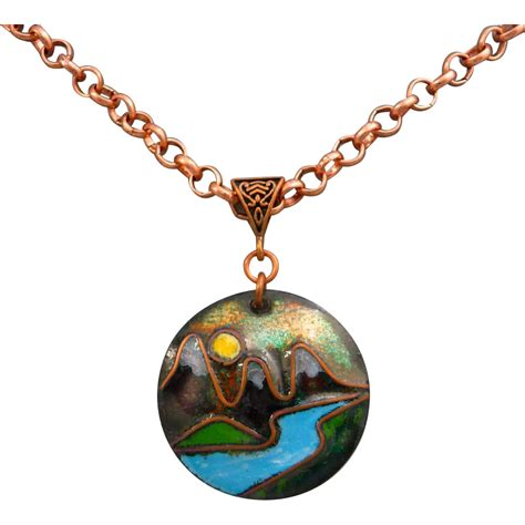 Moon River Copper Enamel Pendant Necklace From Muyifabu On. Non Metal Engagement Rings. Micro Pave Bands. Jewelry Pendant. Mens Black Bracelet. Cluster Rings. Small Diamond Pendant. Semi Precious Stone Earrings. Rose Gold Anklet Bracelets