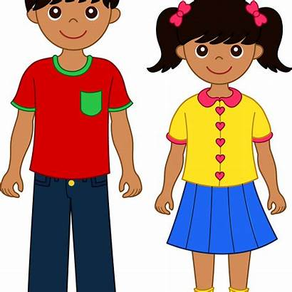 Clipart Brother Siblings Transparent Boys Clip Hispanic