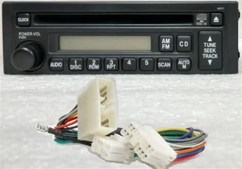 cd radio wiring adapter  tractors   delco
