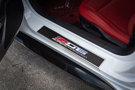 corvette  led door sill plates southerncarpartscom