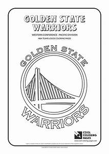Cool Coloring Pages Golden State Warriors Nba Basketball
