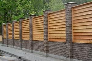 Muret De Cloture : mur de cl ture toutes les infos pour bien le monter ~ Melissatoandfro.com Idées de Décoration