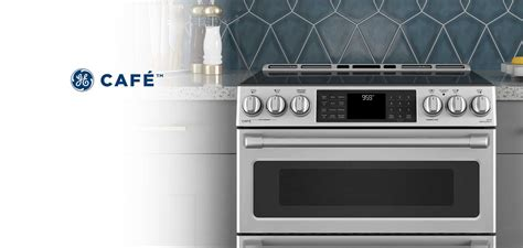 ge cafe double oven induction range overview buy blog