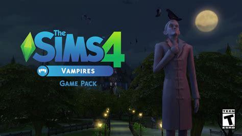trailer screenshots   sims  vampire game pack
