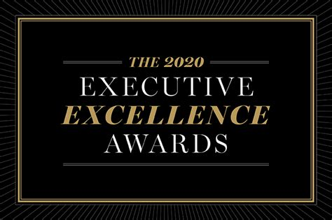 winners  executive excellence awards seattle