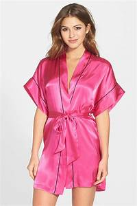 in bloom by jonquil 39je t39aime39 satin kimono robe With robe fourreau satin