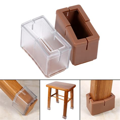 8 16x furniture table chair leg caps covers floor