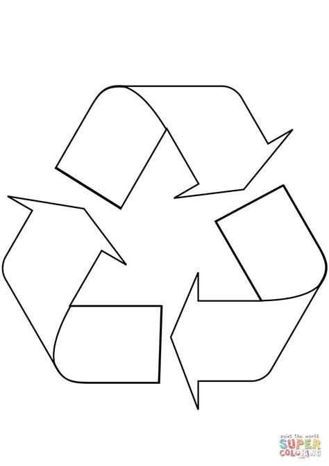 Geri Dönüşüm Logo Boyama Resimlere Göre Ara Red