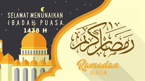 ucapan selamat datang bulan ramadhan bahasa sunda ala model