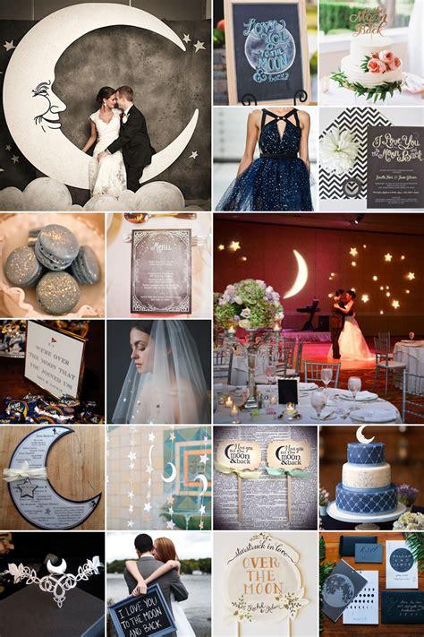 moon wedding theme