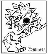 Monster Coloring Monsters Pages Moshi Print Cool2bkids Drawing Printable Colouring Sheets Energy Drawings Silly Games Harvester Combine Getdrawings Getcolorings Printables sketch template