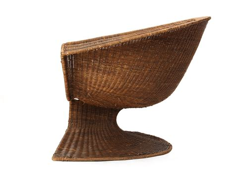 wicker lounge chair by danny ho fong