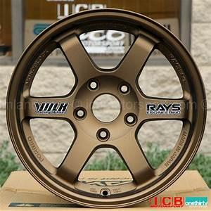 Rays Volk Racing TE37 Wheels 15X8 5X114.3 +35 Offset ...