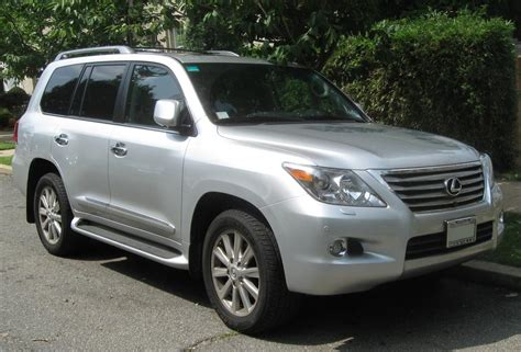 2009 lexus lx 570 information and photos zombiedrive