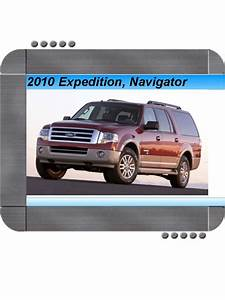 Ford Expedition  Lincoln Navigator 2010 Factory Service