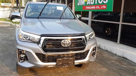 2019 Toyota Hilux Facelift by 2018 Toyota Hilux Revo Facelift 2019 Silver Smart Cab Sale