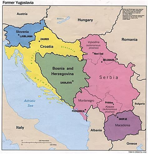 yugoslavia maps perry castaneda map collection