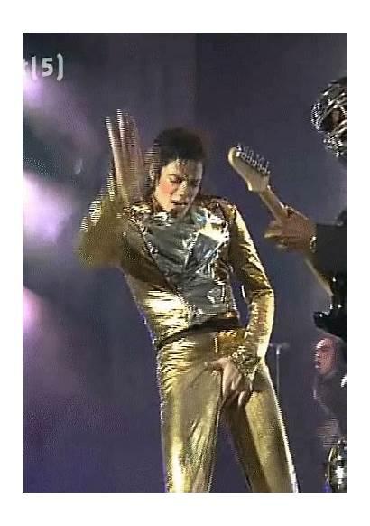 Pants Gold Jackson Michael History Tour Crotch