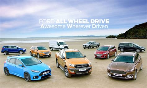 All-new Ford Edge, Kuga And Ecosport