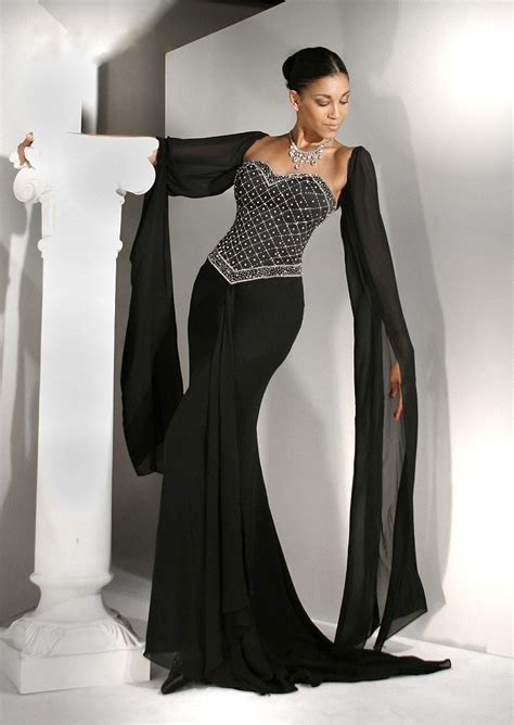 evening dresses for weddings tips for wearing black wedding dresses sang maestro