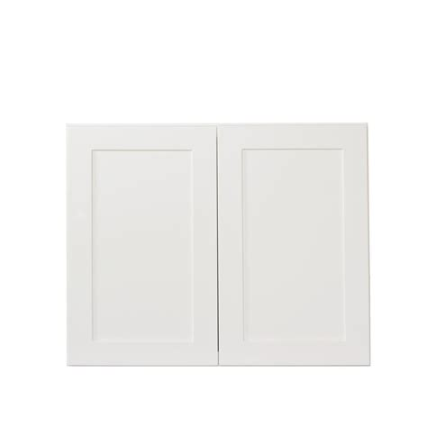 white cabinet doors kitchen bremen ready to assemble 30x24x12 in wall cabinets with 2 1261