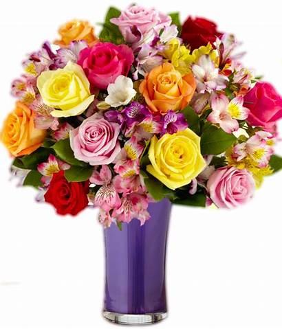 Vase Transparent Flower Flowers Background Arrangements Bouque