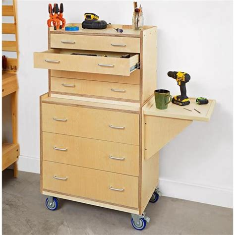Wooden Tool Storage Cabinet Plans by Tool Chest Wood Magazine