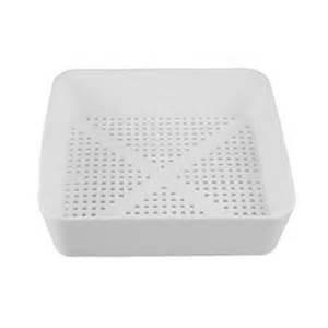 commercial 8 1 2 in square floor drain strainer basket ebay