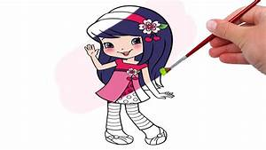 Strawberry Shortcake Raspberry Torte Coloring Pages Youtube