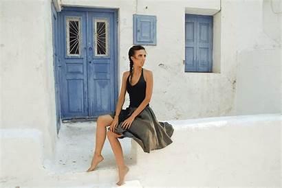 Skirt Windy Below Mykonos Pro Story Button