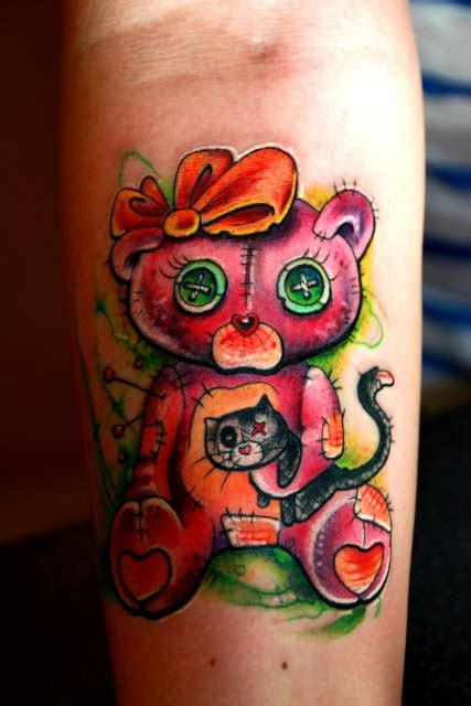 teddy bear tattoos images pictures tattoos hunter