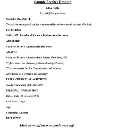 Cover Page For Resume For Freshers by 17 Best Images About Resume And Cover Letters On