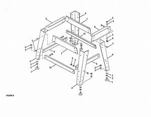 Craftsman 315248200 Table Saw Parts