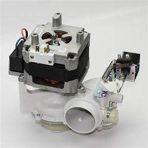 Wd26x10013 Dishwasher Drain Pump And Motor Assembly Kit