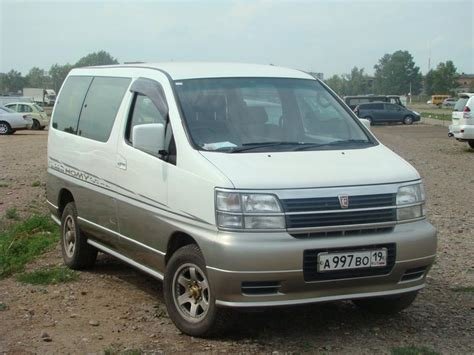Review Nissan Elgrand by 1997 Nissan Elgrand Review