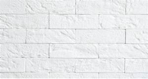 Brique De Parement Blanche : mur en fausse brique blanche ~ Dailycaller-alerts.com Idées de Décoration