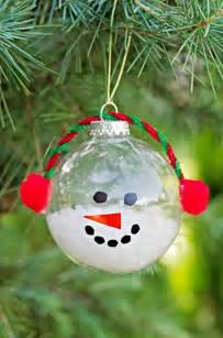 30 diy tree ornament tutorials glue dots sharpies and pom poms