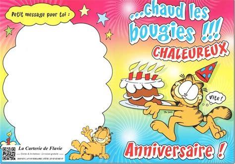 Carte Maxi 60 Ans Anniversaire Garfield