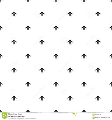 Textile Background With Fleur De Lis Royalty Free Stock