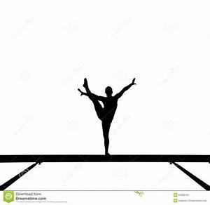 Girl Gymnastics Clipart Silhouette | Clipart Panda - Free ...