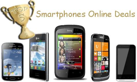 deals on smartphones weekend shopping guide top 5 deals on